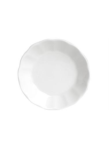 Porland Porland Beyaz Çay Tabağı 12cm Renkli